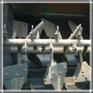 Horizontal Dough Shaft Paddle Type Dry Powder Mixer Machine pictures & photos