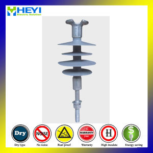 2017 15kv 5kn Transmission Line Polymer Pin Composite Insulator pictures & photos