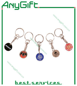 Trolley Token Keyring with Customized Logo 58 pictures & photos