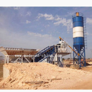 Yhzs75 Automatic Mobile Concrete Mixing Plant 75m3/H