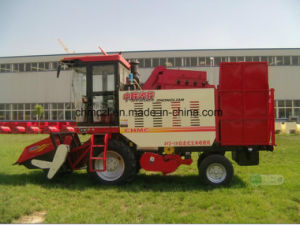 Three Rows Competitive Price of Maize Combine Harvester pictures & photos