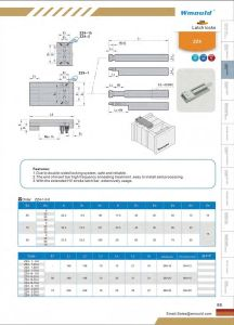 Misumi Mold Latch Locks with Standard High Precision pictures & photos