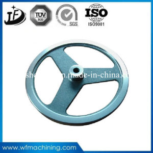 China Supply Iron Casting Flywheel with Coating Service pictures & photos