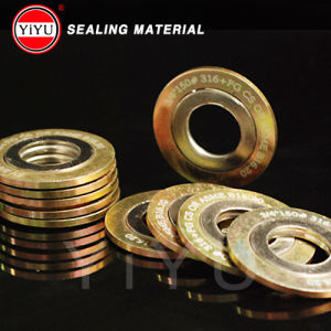 Spiral Wound Gasket with Graphite and 304 Filled pictures & photos