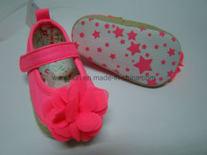 with Red Flower Baby Shoes Mt1322 pictures & photos