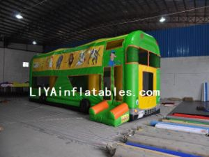 Inflatable Car Bouncer (LY04197)