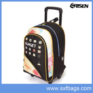 Wholesale LED New Design Child Kids Trolley School Bag pictures & photos