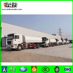 HOWO 4X2 Fuel Tank Truck 15m3 Oil Tank Truck for Sale pictures & photos