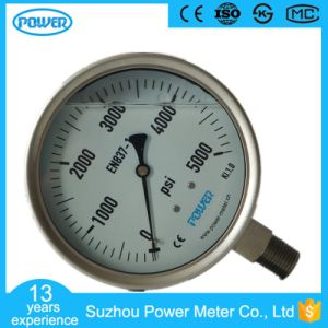 125mm All Stainless Steel Wika Type Pressure Gauge pictures & photos