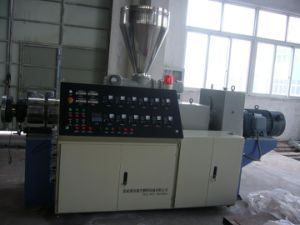 Twin Conical Screw Extruder pictures & photos