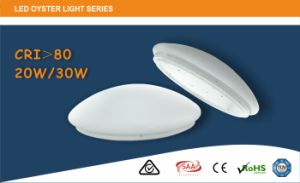 Hot Sales Australian Standard LED Oyster Ceiling Light 20W