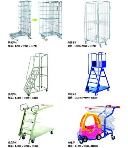 Supermarket Logistics and Climbing Work Trolley pictures & photos