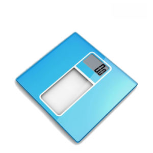 Super Large LCD Display Electronic Weighing Scale with Large Strong Glass Platform pictures & photos