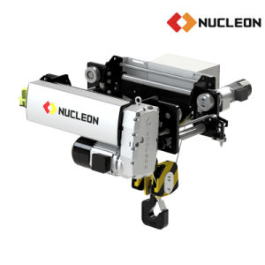 Nucleon Double Girder Overhead Crane Electric Hoist 25/5ton pictures & photos