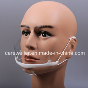 Plastic Transparent Sanitary Mouth Mask pictures & photos