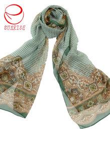 Wholesale Lady′s Silk Long Shawl