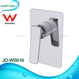 Watermark Brass Black Wall Mounted Bathroom Basin Spout Tap pictures & photos