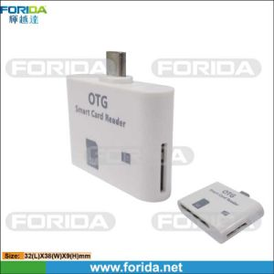 Factory Price New Arrival USB on-The-Go (OTG) Micro USB 5 Pin Card Reader