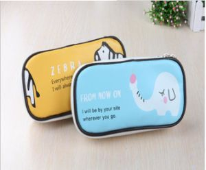Cute Animals Fashion PU Pencil Bags pictures & photos