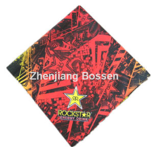 Chinese Factory Customized Logo Printed Cotton Sports Bandana Big Handkerchief pictures & photos