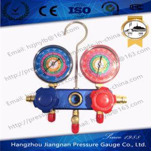 70mm Manifold Pressure Gauge-Refrigeration Pressure Gauge Set pictures & photos