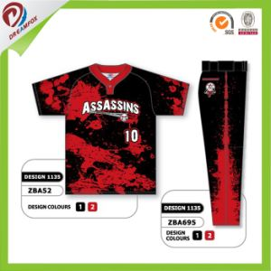 Custom Team Name Pink Baseball Jersey Wholesales pictures & photos