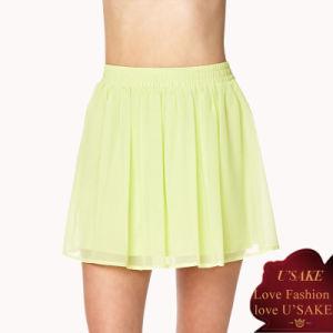 Fashion Short Girl Chiffon Skirt (S308017)