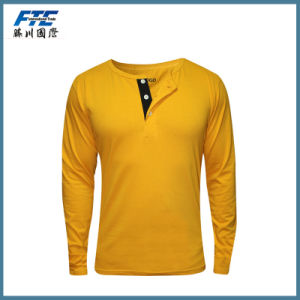 China OEM Manufacturer Long Sleeve T Shirt with Low Price pictures & photos