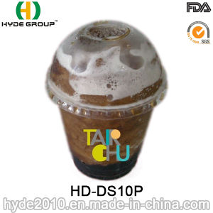 10oz Disposable Pet Plastic Smoothie Cup with Lid pictures & photos