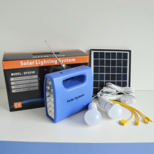 10W LED Economic Solar Power System for Lighting Purpose pictures & photos