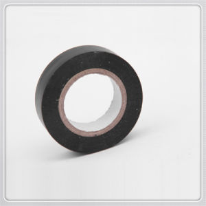 Black Electrical PVC Insulating Adhesive Tape pictures & photos