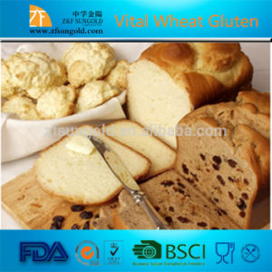 High Quality Hot Sale Powder Vital Wheat Gluten pictures & photos