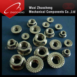 DIN6923 Stainless Steel Flange Nuts pictures & photos