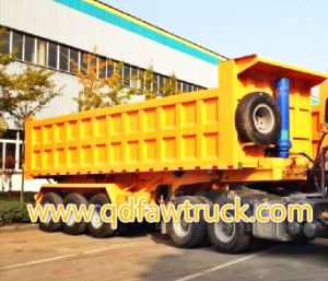 HTC9590 3 axle standard tipper/dump trailer pictures & photos