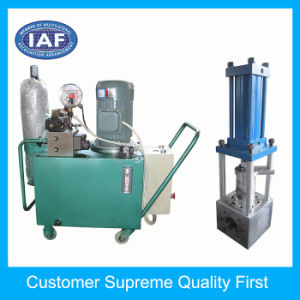 Factory Making Single-Prillar Hydraulic Screen Changer pictures & photos