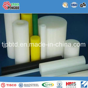 Machined Solid Customized Size Rigid PVC Round Bar pictures & photos
