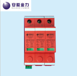 PV Application 20-40ka Solar 3p DC 1000V Surge Protector, 17005 pictures & photos