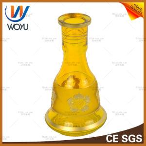 Yellow Shisha Silver Classic Tobacco Charcoal Smoke Cigarette Hookah Glass Water Pipe Glass Smoking Pipe Mini Electronic Cigarett E-Cigarette Vaporizer Water pictures & photos