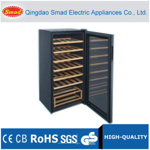 45 Bottles Compressor Wine Cooler with Wire Shelf/Wooden Shelf pictures & photos