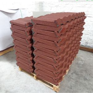 Soncap certificated Roman Colorful Stone Coated Metal Roofing Tile pictures & photos