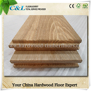 Unfinished Popular Oak Solid Wood Flooring pictures & photos