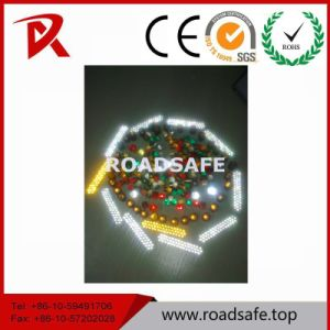 Roadsafe Traffic Security Reflective Road Reflector Lens 43 Glass Beads pictures & photos