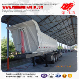 Qilin 3 Axle 60 Ton Tipper Trailer Tractor Dump Trailer pictures & photos