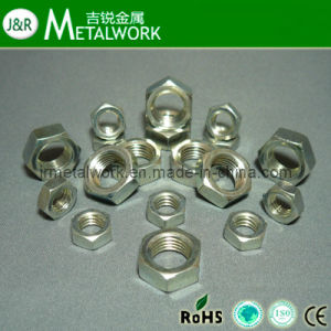Stainless Steel Hex Jam Nut DIN936 pictures & photos