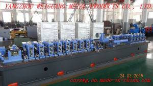 Wg16 Carbon Steel Pipe Production Line pictures & photos