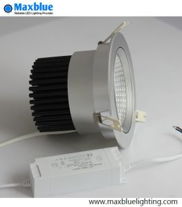 6-35W Tiltable and Movable Silver COB LED Ceiling Downlight pictures & photos