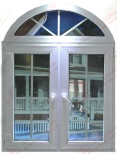 German Quality Arched Plastic Window (BHP-CWA07) pictures & photos