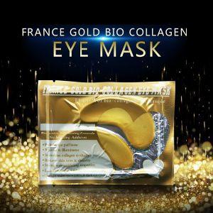 Golden Eye Mask Gold Eye Patch for Eye Anti Wrinkle Anti Aging Bio-Collagen Eye Mask pictures & photos