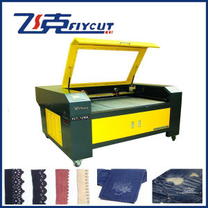 Fabric Cloth Laser Cutting and Engraving Machine pictures & photos