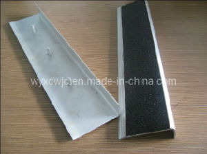 Aluminum Carborundum Stair Nosing Floor Covering pictures & photos